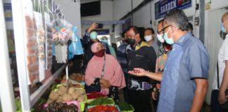 Foto Aktivitas di pasar TPID II