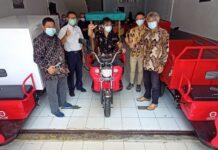 Foto Gerobak Listrik (GELIS), satu lagi produk asli anak negeri kini resmi hadir di Batam, Kepulauan Riau
