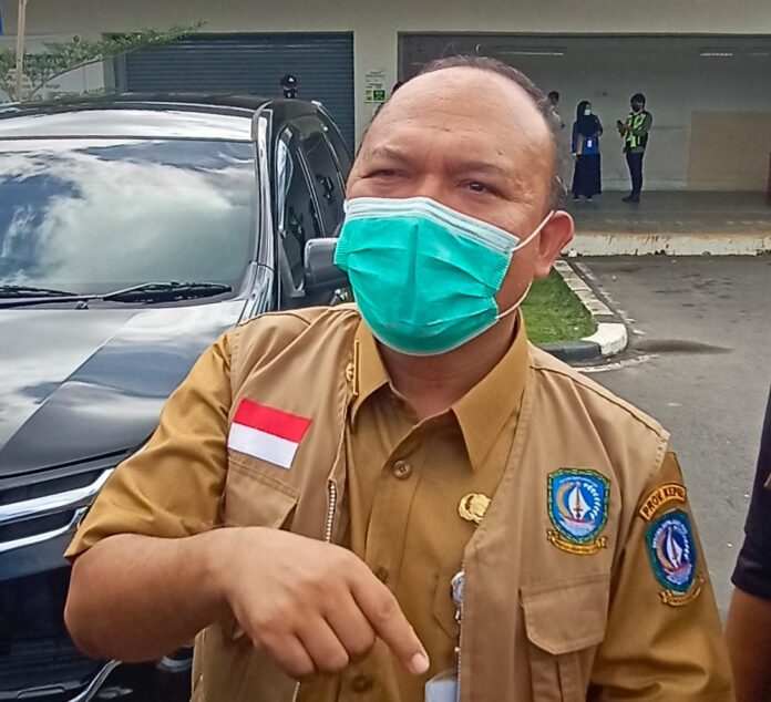 Kepala Dinas Kesehatan Provinsi Kepri Mohammad Bisri (Suryakepri.com/Muhammad Bunga Ashab)