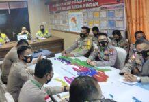 Kegiatan Penandatanganan Fakta Integritas dan Pengambilan Sumpah Seleksi Pendidikan Sekolah Inspektur Polisi (SIP) di Polres Bintan (Suryakepri.com)