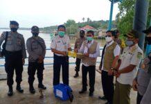 Sebanyak 100 Vial vaksin Covid-19 didistribusikan ke Kecamatan Belat, Karimun, Rabu (27/1/2021). Foto Suryakepri.com/YAHYA