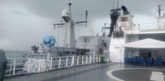 dua kapal Tanker Frea bendera Panama, dan Horse dari Iran, di Pelabuham Batuampar, Kamis (28/1/2021) sekitat pukul 12.30 WIB
