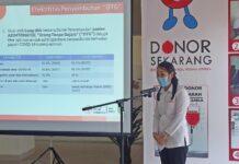 Kepala Unit Donor Darah PMI Kota Batam, dr Novi