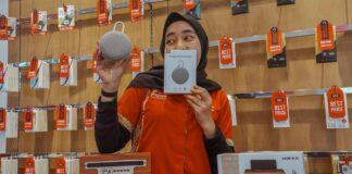 foto Gerai ponsel Erafone yang berada Grand Batam Mall