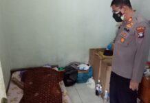 Abdul Hadi (59), buruh bangunan di kamar kost di Kampung Harapan Swadaya Blok B No. 11 Kel. Sadai Kec. Bengkong, ditemikan tidak bernyawa di atas kasur, Rabu (27/1/2021) siang.
