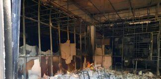 Foto-foto Penampakan Gedung E Pemkab Karimun Pasca Terbakar