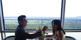 Foto suasana puncak La Bella Vita Rooftop Bar.Best Western Premier Panbi