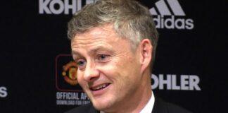Manajer Manchester United Ole Gunnar Solskjaer.