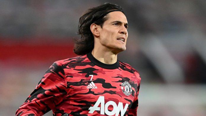 Striker Manchester United Edinson Cavani (Foto dari Sky Sports)