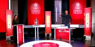 Pengundian perempat final Piala FA Emirates dilakukan di studio BT Sport di London timur. (Foto: Thefa.com)