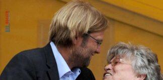 Foto Jurgen Klopp dan mendiang ibunya, Elisabeth Klopp, semasa masih hidup. (Foto dari Mirror)