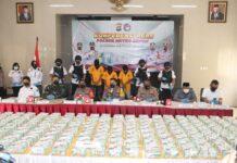 Kabid Humas Polda Metro Jaya, Kombes Pol Drs Yusri Yunus membeberkan modus operandi pengungkapan narkotika jenis sabu-sabu sebanyak 258 kilogram di Padang dan Pekanbaru. (Foto: Humas Polri)