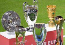 Bayern Munich memborong semua enam trofi dari enam kompetisi yang mereka ikuti. Trofi Piala Dunia Antarklub adalah yang terakhir dalam 12 bulan terakhir setelah mengalahkan Tigres 1-0. (Foto dari Twitter Bayern Munich)