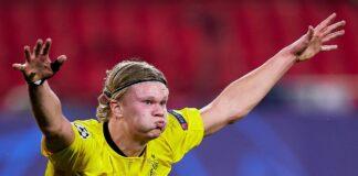 Striker Borussia Dortmund Erling Braut Haaland. (Foto: Twitter)