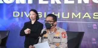 Kepala Divisi Humas Polri Irjen Argo Yuwono menolak untuk membeberkan sakit yang diderita oleh Soni Eranata atau Ustadz Maaher At-Thuwailibi. (Foto: Humas Polri)