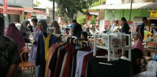 Suasana Pasar Muamalah dinar-dirham di Depok, Agustus 2019. Bareskrim Polri telah menangkap Zaim Saidi selaku pendiri pasar ini, Selasa (2/2/2021) malam. Foto: Tangkapan layar youtube Official Miftah)