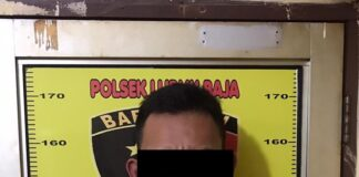 Noval Roni (21), pelaku pengeroyokan penganiayaan di Pub Grand Dragon BTH Hotel Batam