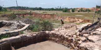 Tambang pasir ilegal di Citra Lautan Teduh, Tanjung Memban, Kelurahan Kampung Tengah, Nongsa