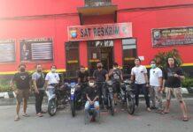 Pelaku pencurian kendaraan bermotor, diamankan jajaran Sat Reskrim Polresta Barelang, Kamis (4/2/2021) dini hari.