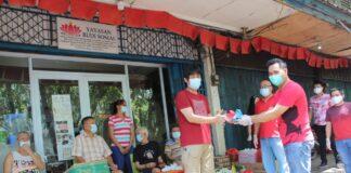 PKP Peduli, berbagi bersama Yayasan Budi Sosial, Batam, Sabtu (06/02/2021)