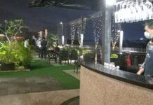 Re-Opening Skae Restaurant & Bar yang berada di rooftop Eska Hotel Batam
