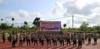 Apel kesiapan Bhabinkamtibmas Polres Bintan (Suryakepri.com)