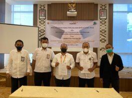 Kementerian Pekerjaan Umum dan Perumahan Rakyat (PUPR) melalui Satuan Penyediaan Perumahan Kepri bekerja sama dengan PT. Bank Mandiri, menyalurkan Bantuan Stimulan Perumahan Swadaya (BSPS) 2021.