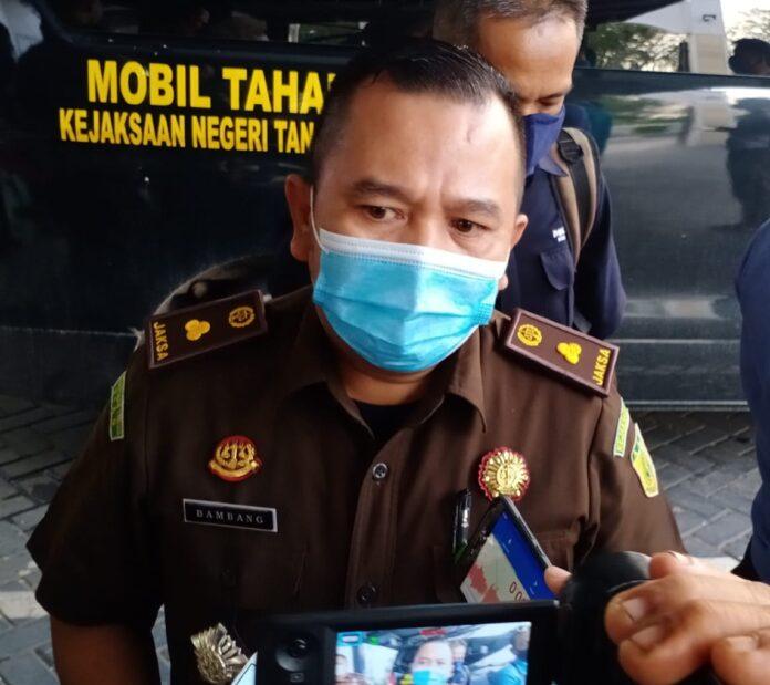 Kasi Intelijen Kejari Tanjungpinang Bambang Heri Purwanto (Suryakepri.com/Muhammad Bunga Ashab)