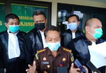 Asisten Bidang Tindak Pidana Khusus Kejati Kepri Wagiyo S saat ditemui di Pengadilan Negeri Tipikor Tanjungpinang (Suryakepri.com/Muhammad Bunga Ashab)