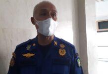 Kepala Dinas Damkar Pemko Batam, Azman MP