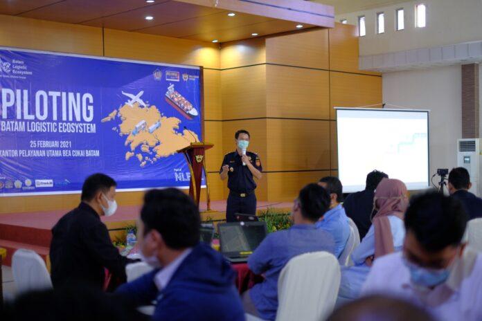 Bea Cukai (BC) Tipe B Batam menjadi inisiator dalam pengembangan dan penerapan Batam Logistic Ecosystem (BLE)