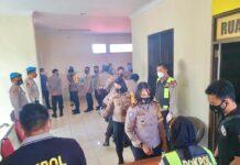 Uji narkoba 43 anggota Polresta Barelang, Sabtu (27/02/2021)