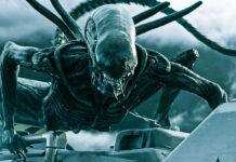 """Wujud alien dalam film Hollywood """"Alien: Covenant in Utero"""" yang dirilis tahun 2017. Ini adalah gambaran ekstrem melalui film-film fiksi ilmiah Hollywood, tetapi menjadi sebuah kekhawatiran Bumi mengalami seperti ini jika ada """"makhluk asing"""" membonceng sampel dari Mars lalu bermutasi secara liar dan mengancam kehidupan di planet kita."""