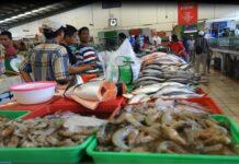 Ilustrasi pedagang ikan. (Foto: KKP)