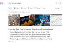 Hati-hati ketika mencari sesuatu informasi melalui Google. (Tangkapan layar)