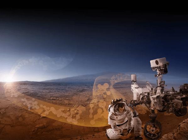 Sebuah laporan baru NASA bertujuan untuk membantu mengurangi ancaman kontaminasi Mars dan dunia lain selama misi luar angkasa berawak. (Kredit gambar: NASA)