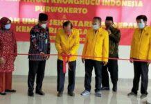 Sekolah Tinggi Konghucu Indonesia pertama di Indonesia diresmikan di Purwokerto, Jawa Tengah (CNNIndonesia/Kusworo)