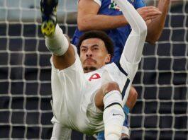 Dele Alli mencetak gol dengan tendangan salto spektakuler melawan Wolfsberger. (Foto dari Sky Sports)