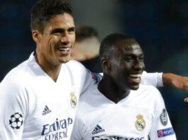 Ferland Mendy (kanan) mencetak gol kemenangan untuk Real Madrid melawan Atalanta. (Foto dari Sky Sports)