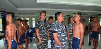 Foto Seleksi Penerimaan Calon TNI AL