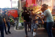 Pelaku jambret mahasiswi di Baloi Mas, Lubukbaja di lumpuhkan timah panas, Jumat (5/3/2021) sore.