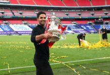 Mikel Arteta memimpin Arsenal menjuarai Piala FA kurang dari delapan bulan setelah pengangkatannya. (Catherine Ivill / PA via Sportsmole)