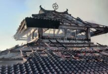 Warisan Budaya Pagoda Quan Am Tu Camp Vietnam Dilalap Api