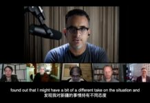 "YouTuber Kanada Daniel Dumbrill, yang menjalankan bar kerajinan bir di kota selatan Shenzhen, menjelaskan mengapa AS dan negara-negara Barat ingin ""mengganggu China dan hubungannya"". (Foto dari SCMP)"