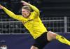 Striker Borussia Dortmund erling Braut Haaland mencatat rekor baru di Liga Champions. (Foto dari Uefa.com)