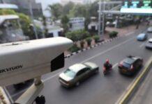 Ilustrasi kamera CCTV E-TLE atau E-Tilang/