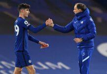 Kai Havertz bersama Thomas Tuchel. (Foto dari Football London)