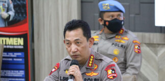 Kapolri Jenderal Listyo Sigit Prabowo. (Foto: Humas Polri)