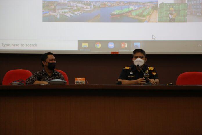 Foto Badan Usaha Pelabuhan Badan Pengusahaan (BP) Batam melaksanakan Sosialisasi Integrasi Sistem Autogate dengan B-SIMS BP Batam dan TPS Online Bea Cukai