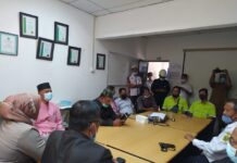 Pansus DPRD Karimun saat sidak ke PT KG, Rabu (3/3/2021). Foto Suryakepri.com/YAHYA